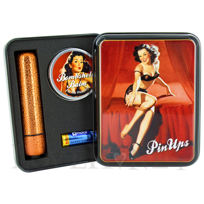 Pin Ups Glitter Bullet and Bombshell Balm Gift Set