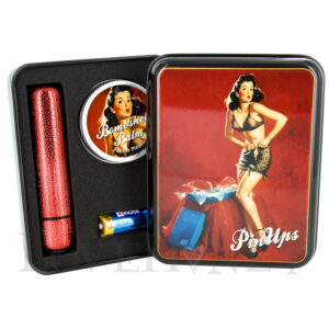 Sumptous Ruby and Her Glittery Red Bullet Vibrator Gift Set